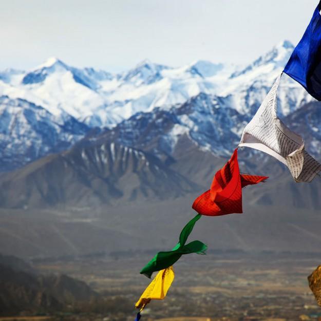 Молитвенные флаги Тибета