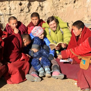 Среди тибетских монахов