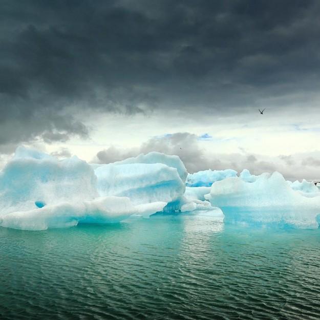 Йокульсарлон, айсберги ледниковой лагуны