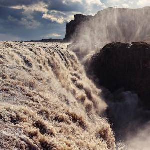 водопад Деттифосс. Исландия.