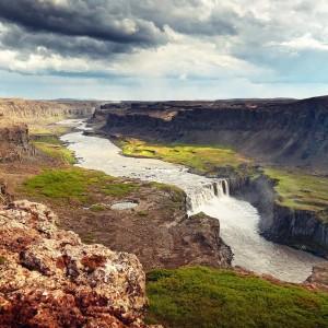 водопад. Исландия.