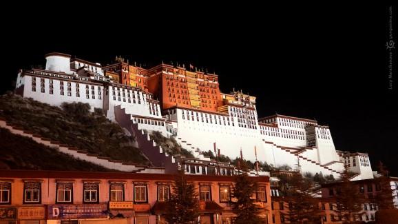 Потала в Лхасе Тибет