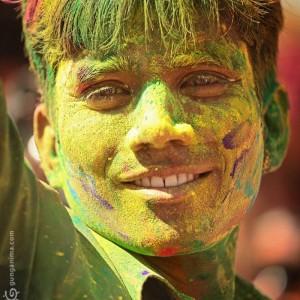 праздник Холи, Индия