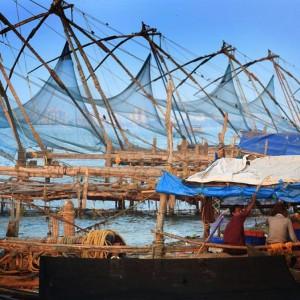 китайские рыбацкие сети
