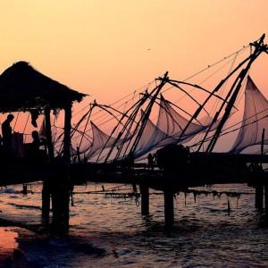 китайские рыбацкие сети форта Кочи