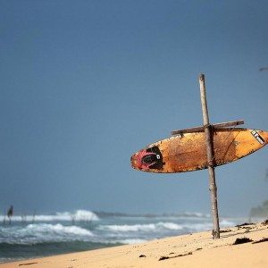 доска для серфинга как указатель