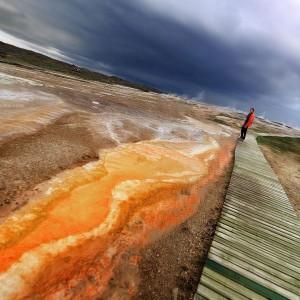 3d фото геотермальных озер в Исландии. Фото Люся Маратканова