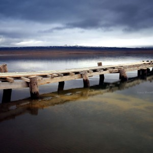 3D фото деревянных мостков в Исландии 3D. Фото Люси Мараткановой