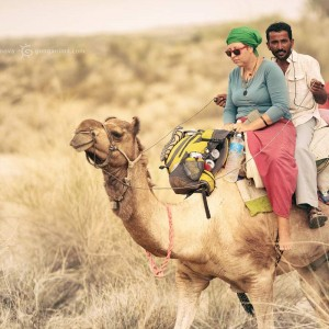 сафари на верблюдах в пустыне Тар. Фото Люся Маратканова