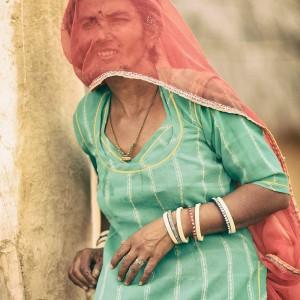 индианка в пустыне Тар. Фото Люся Маратканова