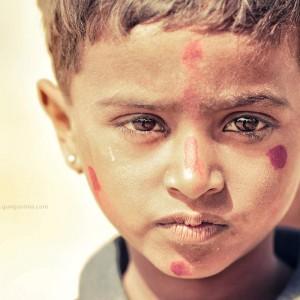 children of thar desert in india