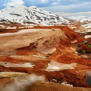 долины в горах исландии