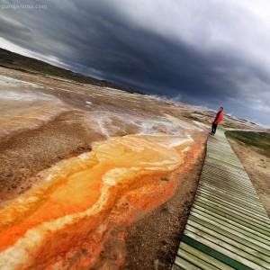 hot geothermal springs in iceland