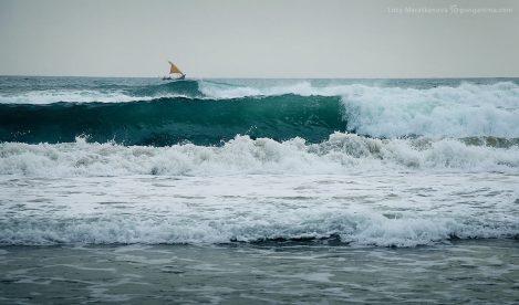 Восточное побережье океана в Индии. Фото Люся Маратканова