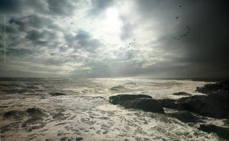 океан перед грозой