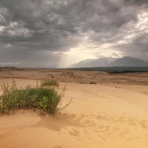 чарские пески в забайкалье в россии