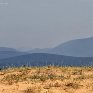 char desert in baikal in russia
