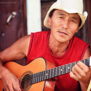 guitar musician in russia