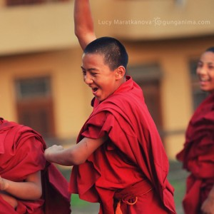 child games in india in buddhist monastery gyeto