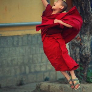 child happiness in dharamsala in india