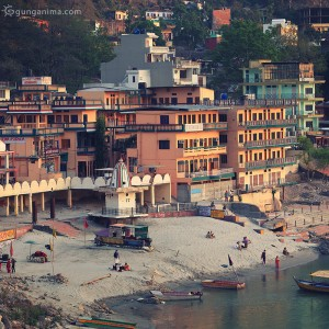 rishikesh coast in india