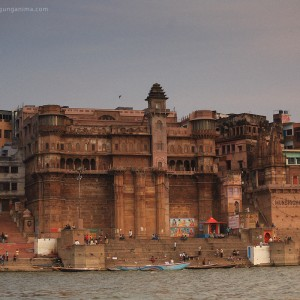 varanasi on the river gang in india