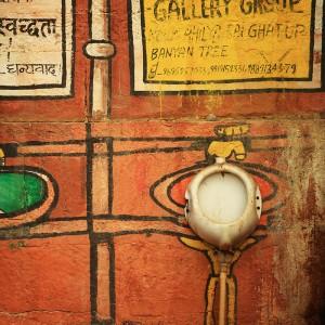 creative wc in varanasi in india