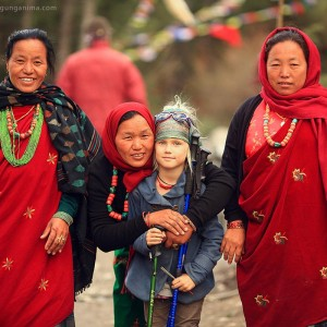 girl and nepali women