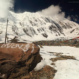 landscape in trekking around annapurna
