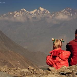 himalayan mountains in nepal