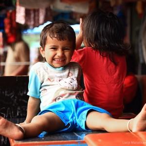nepali children in kathmandu