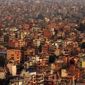 катманду вид сверху в непале