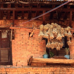 дома в непале в катманду