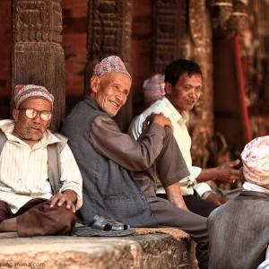 nepali people in kathmandu