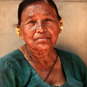 Nepali woman in Bhaktapur