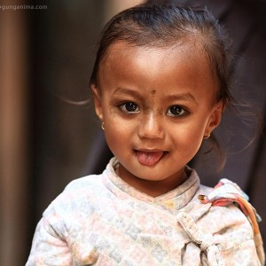 Nepali girl portrait
