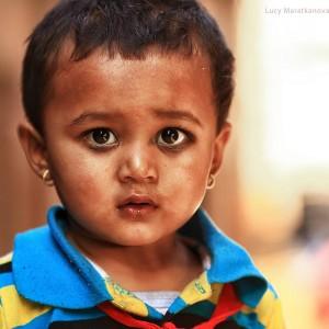 Портрет непальского ребенка