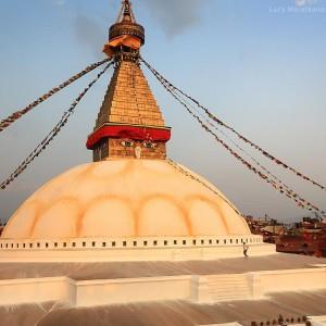 Ступа Боднатх в Катманду