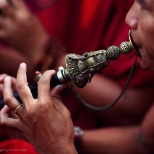 ритуальная дудка в тибетском буддизме