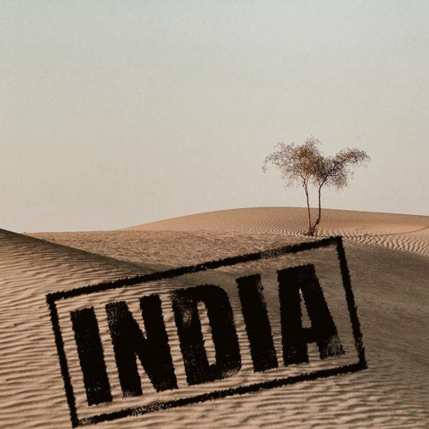 Пески пустыни Тар в штате Раджастан Индия