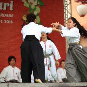 Мастер класс айкидо японских детей в сан пауло в бразилии