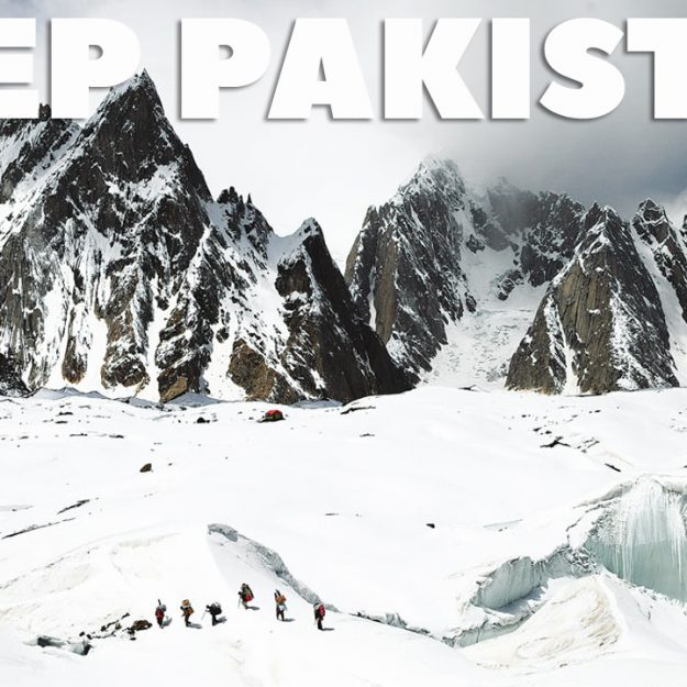Video about the travel in mountains in pakistan