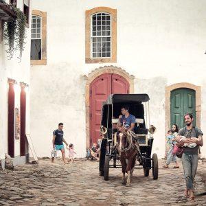 исторический центр города парати в бразилии