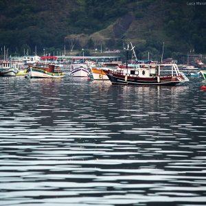лодки на пристани в море в бразилии