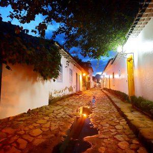улицы исторического центра Парати в бразилии