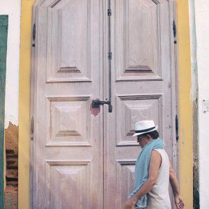 красивые двери в парати в бразилии